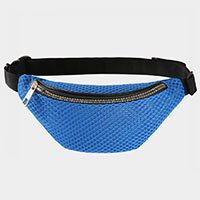 Solid Mesh Fanny Pack